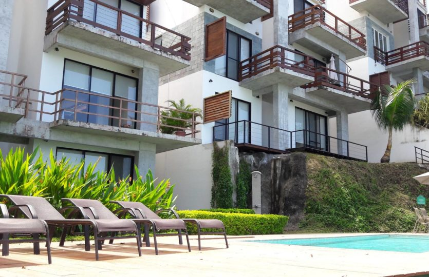 Cubremar Condominium Exterior by pool