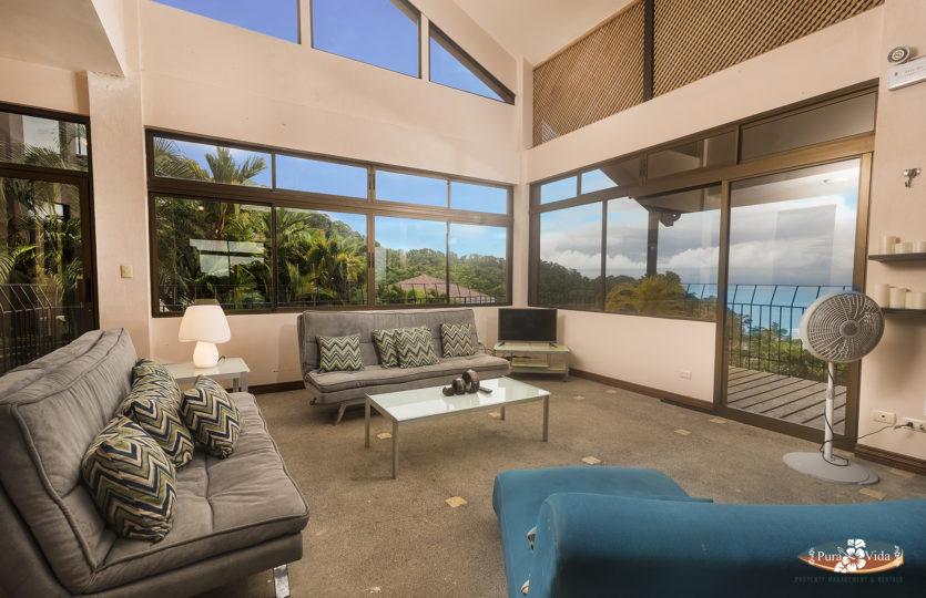 Living Room at Punta Leona
