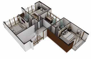 House Plan for vacation home in Amaru Punta Leona Costa Rica