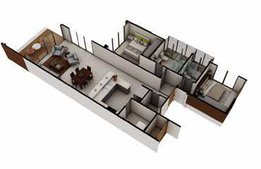 House plans for vacation home Amaru Punta Leona Costa Rica